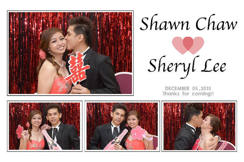 Photo Booth Box for Wedding Dinner