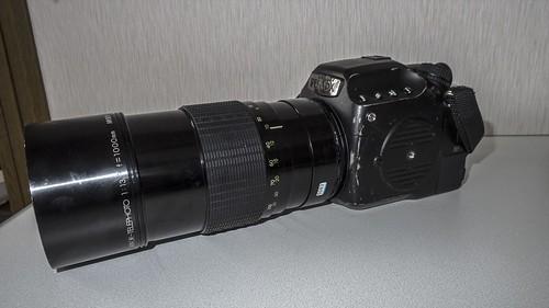 Pentax 645Z with Sigma 1000mm f13.5 mirro lense