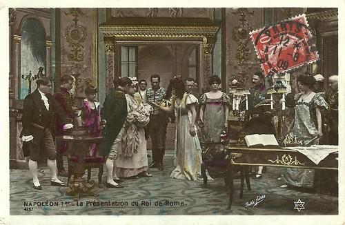Napoléon 1er. La présentation du Roi de Rome