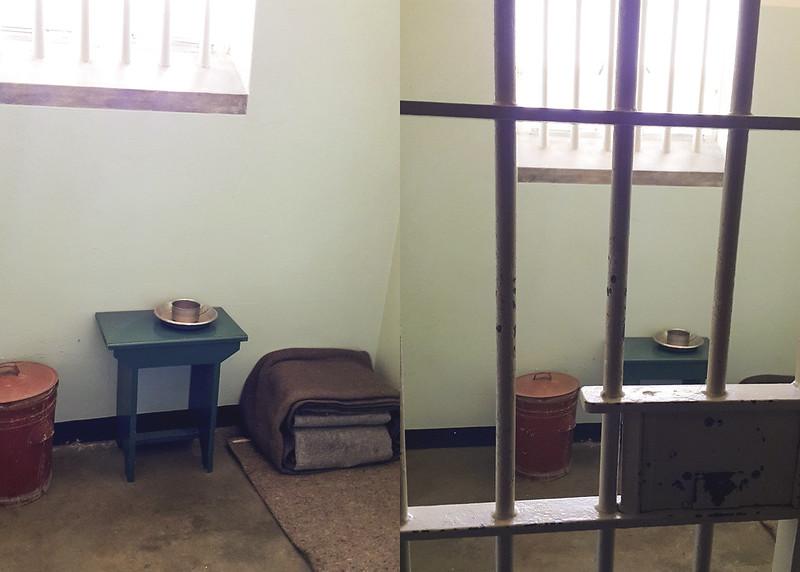 Robben Island Nelson Madela's cell