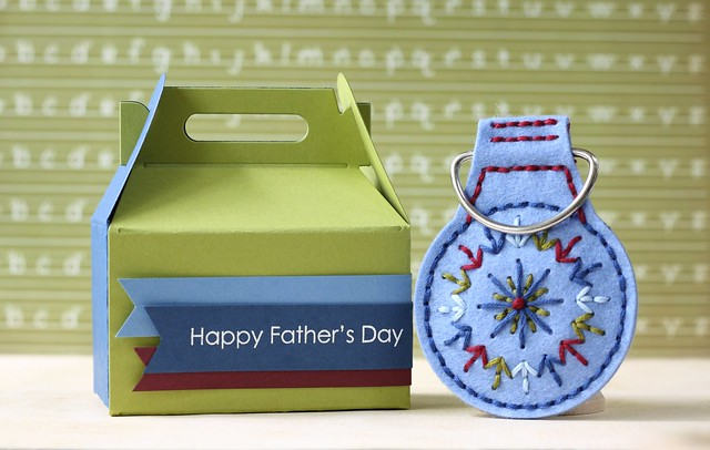 PTI-Key Fob die &Keep It Simple: Father