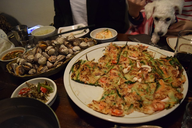 Small Clams & Korean Pancake 파전