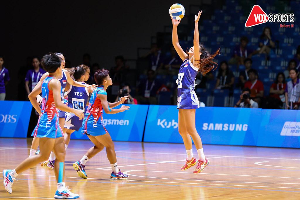 sea games 2015 netball