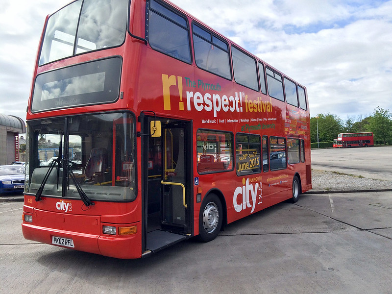 plymouth Citybus 481 PK02RFL