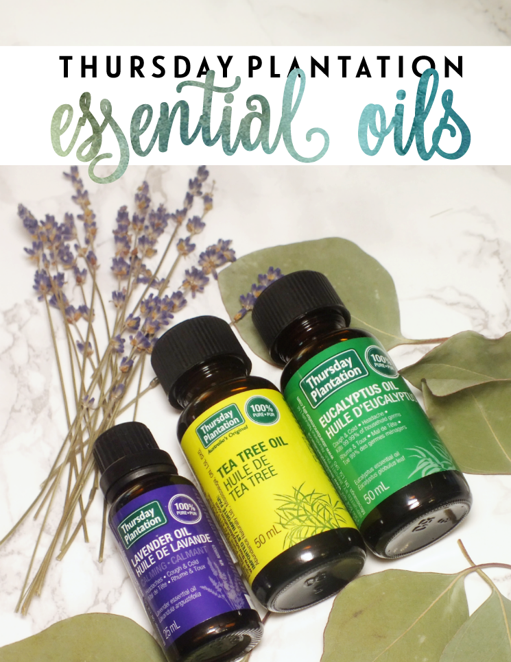 thursday plantation essential oils
