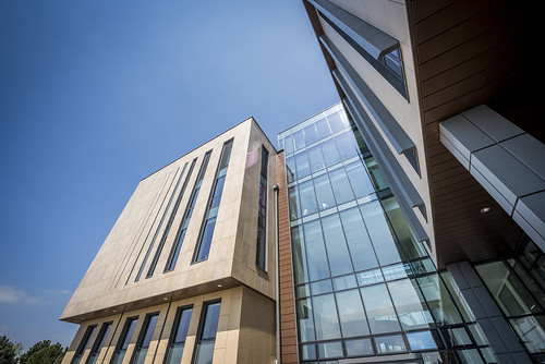 Exterior view of the new 10 West building