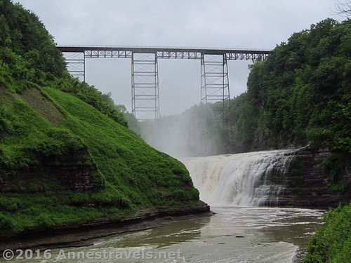 Upper Falls in Letchworth State Park, New York