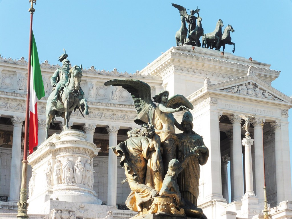 Altare della Patria Sculptures