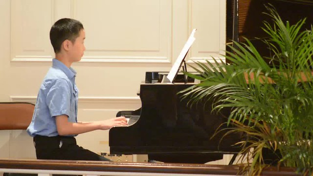 Mothers Day 2015 Bach Prelude in C Ethan 540