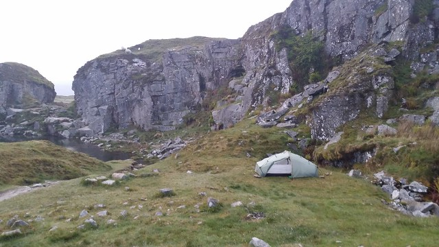 Camp at Foggin Tor #sh
