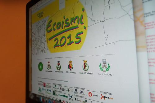 Nuovo sito di #Ecoismi2015 quasi pronto