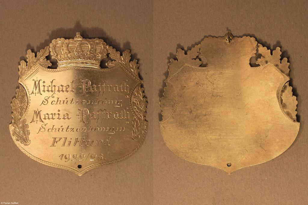 Koenigsschild Flittard von paffrath michael aus dem Jahr 1922