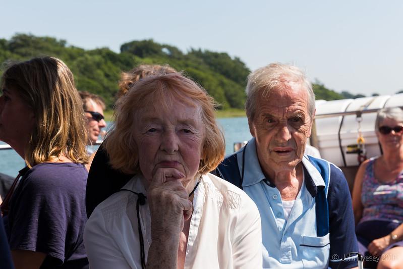 Ann & John on the river boat