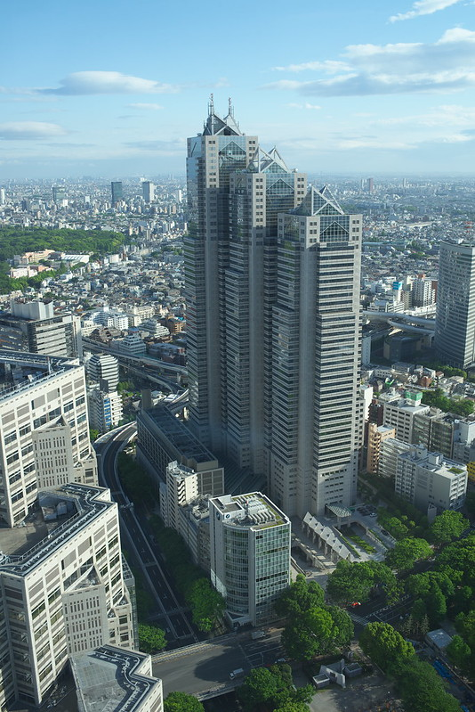東京路地裏散歩 東京都庁より 2015年5月4日