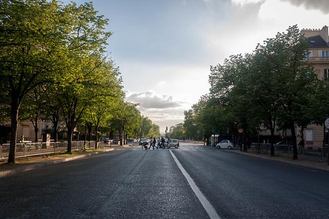 Parisian street, Paris