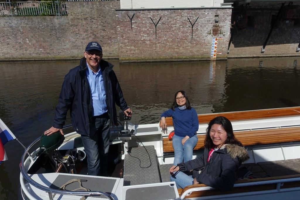 Bến thuyền, ảnh được chụp bởi một tình nguyện viên đồng nghiệp của bác