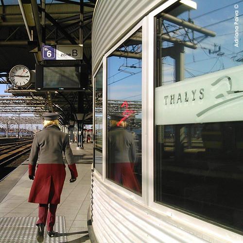 Brussels estações estação de trem Clique sobre a imagem para ampliá-la