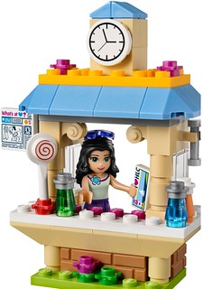 LEGO Friends 2015: 41098 - Emma's Tourist Kiosk