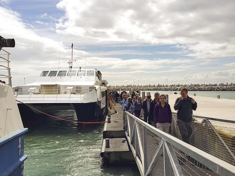 Robben Island passengers