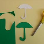 Carte parapluie - étape 1