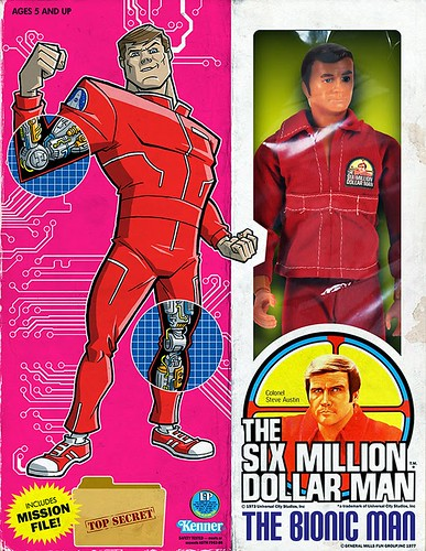 Minion Factory The Six Million Dollar Man - The Bionic Man