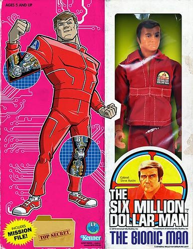 Minion Factory The Six Million Dollar Man - The Bionic Man