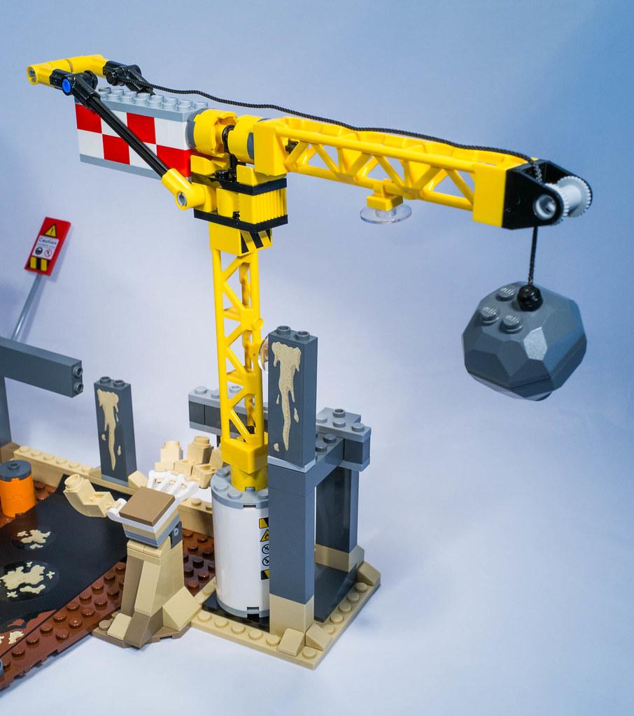 Lego 76037 - Rhino and Sandman vs Spider-man   Lego 76037 ...