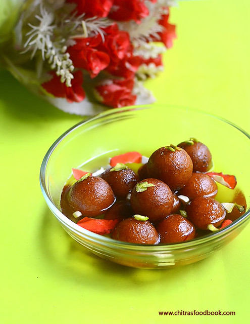 Gulab jamun recipe with milk powder chitras food book last year i shared gulab jamun recipe with khoya as it came out very well i got the confidence to try gulab jamun with other options forumfinder Gallery