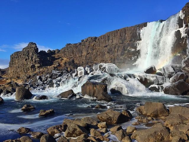Oxararfoss, una de las cascadas más hermosas de Islandia