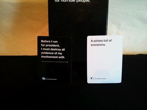 010 - Cards Against Humanity card types