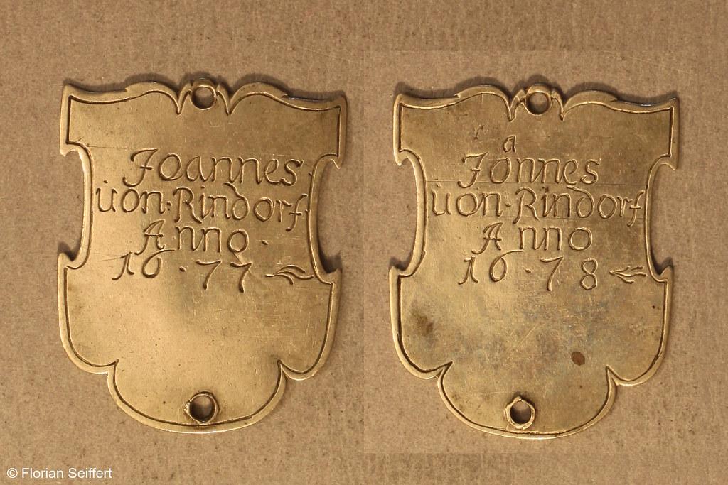 Koenigsschild Flittard von rindorf von joannes aus dem Jahr 1677