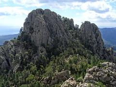Punta Mozza depuis le sommet 1089m