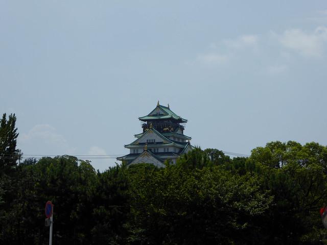 Osaka castle - 18.6.16