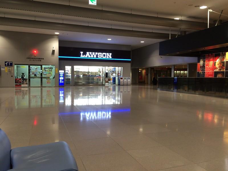 関西国際空港ターミナル交番の前
