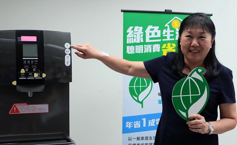 環保標章強調「省資源」、「低污染」、「可回收」的精神  攝影:陳文姿
