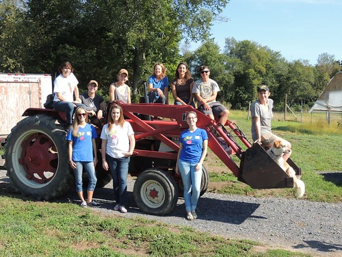 Field Goods staff with the Ironwood Farm team