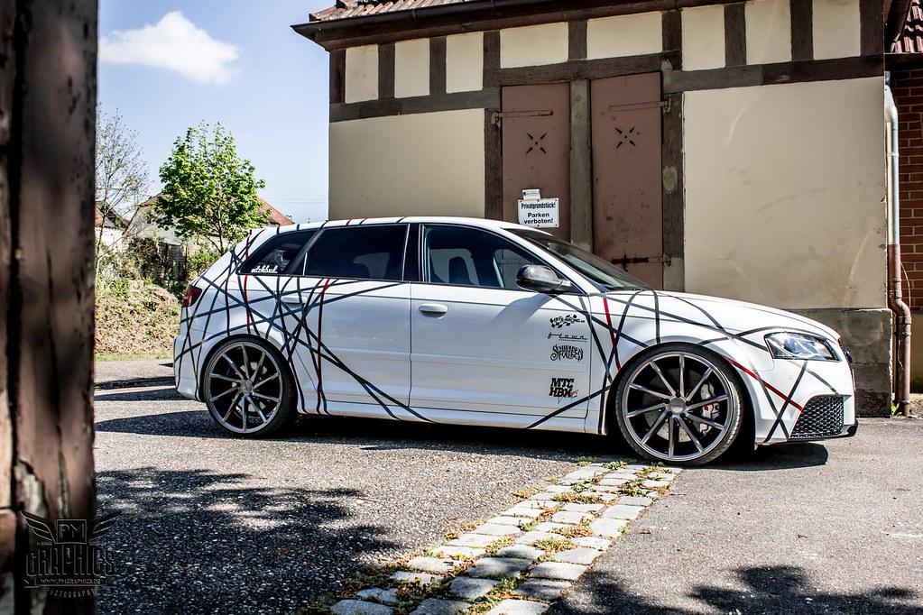 Audi rs3 cvt gloss graphite vossen wheels 201510