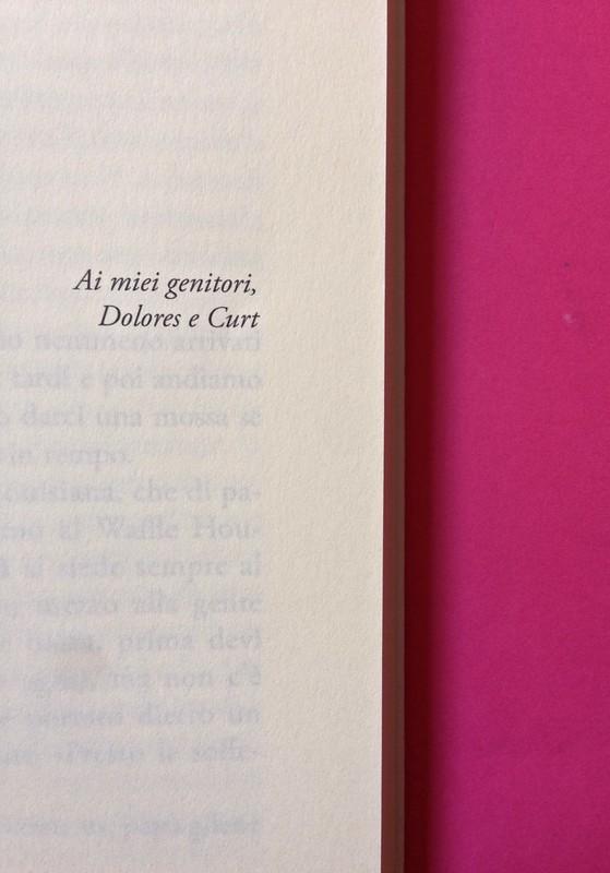 Last days of California, di Mary Miller. ClichY 2015. Progetto grafico e illustrazioni di Raffaele Anello. Pagina dell'esergo, a pag. 9 (part.), 1