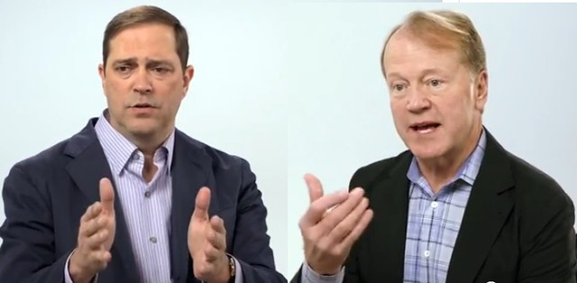 Chuck Robbins y John Chambers,Cisco