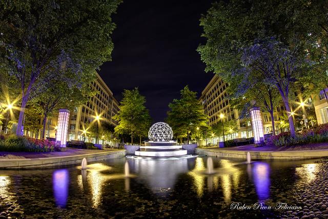 Geodesic Dome Fountain