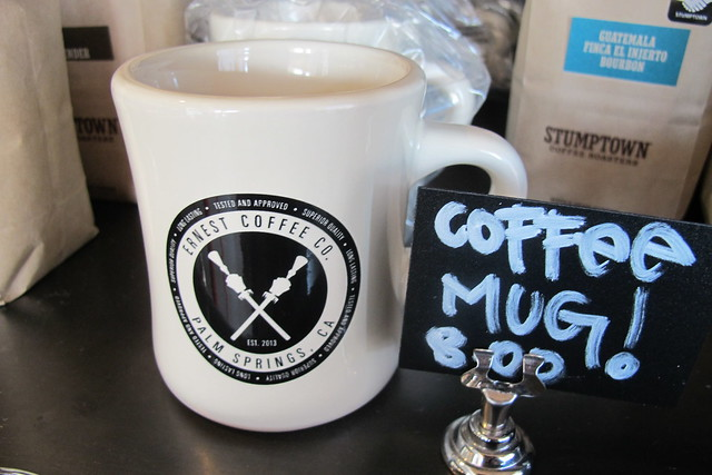 Ernest Coffee Co. mug