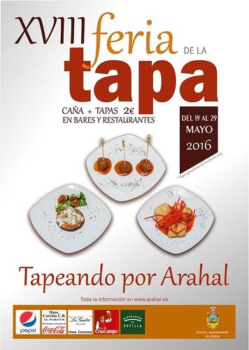 """AionSur 26842321601_a6af2f315a_d """"Tapeando por Arahal"""", del 19 al 29 de mayo Cultura Feria de La Tapa"""