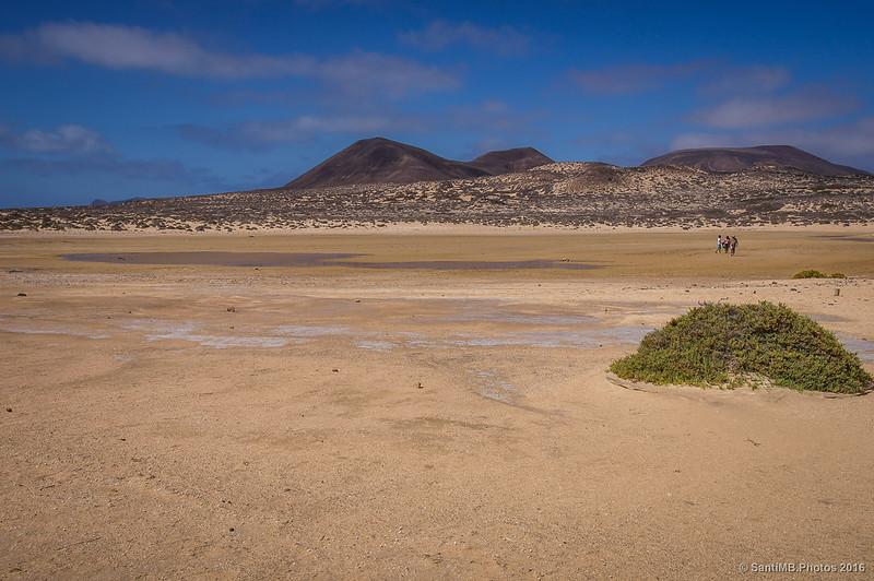 La Lagunita casi seca
