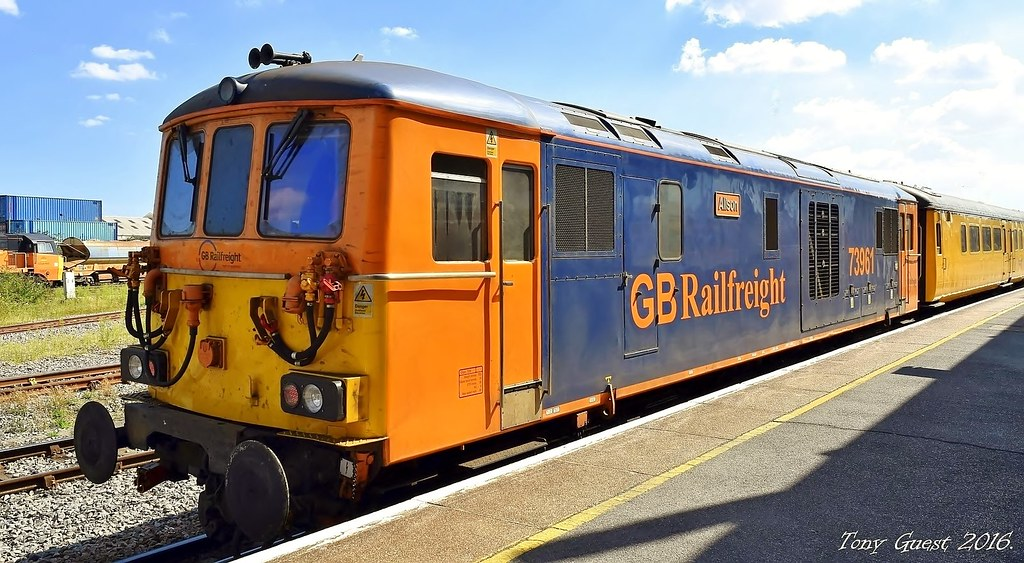 Gbrf Class 73 9 73961 Alison At Eastleigh At The