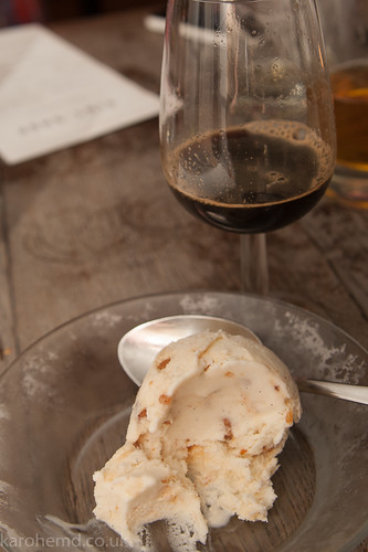 Jack's Gelato: Bacon Brittle Ice Cream