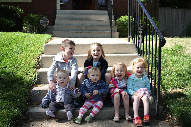 6 kids: Hornungs and Millers 5/1/15