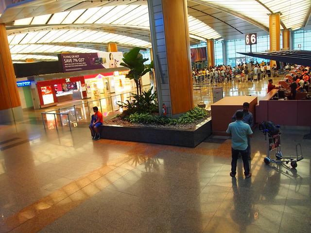 P4199459 チャンギ空港 シンガポール singapore