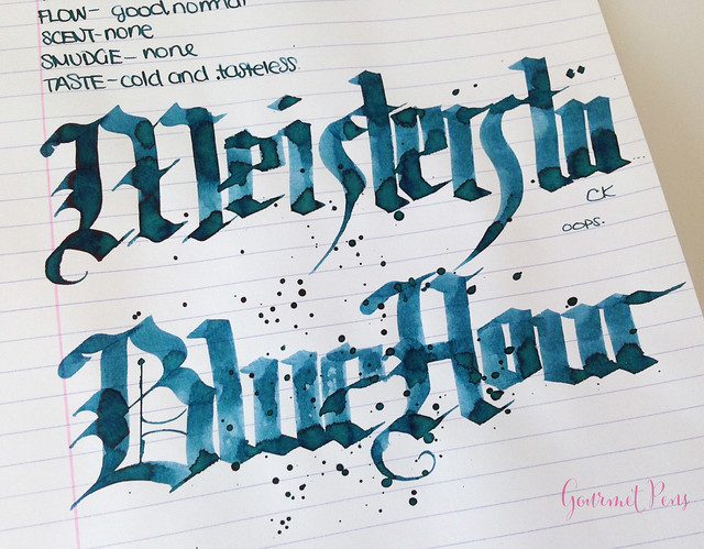Ink Shot Review Montblanc Meisterstuck Blue Hour Twilight Blue (9)