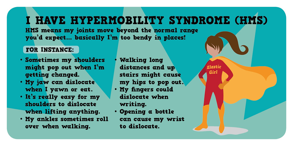 'I have Hypermobility Syndrome' Card (Front)