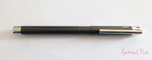 Review Lamy Logo Cliff Grey Fountain Pen @Fontoplum0 @Lamy (2)